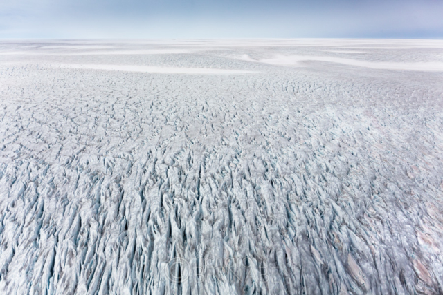 The Greenland ice sheet, Eastern Greenland