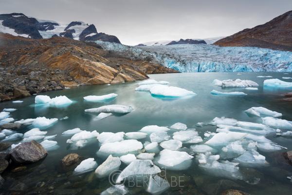 Hann Glacier, Johan Peterson Fiord