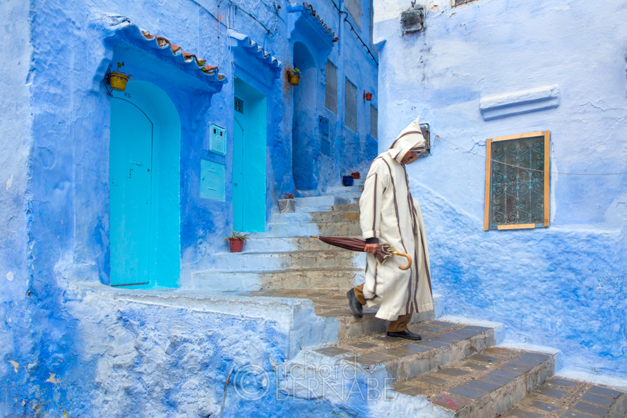 Chefchaouen The Blue Pearl Of Morocco Richard Bernabe