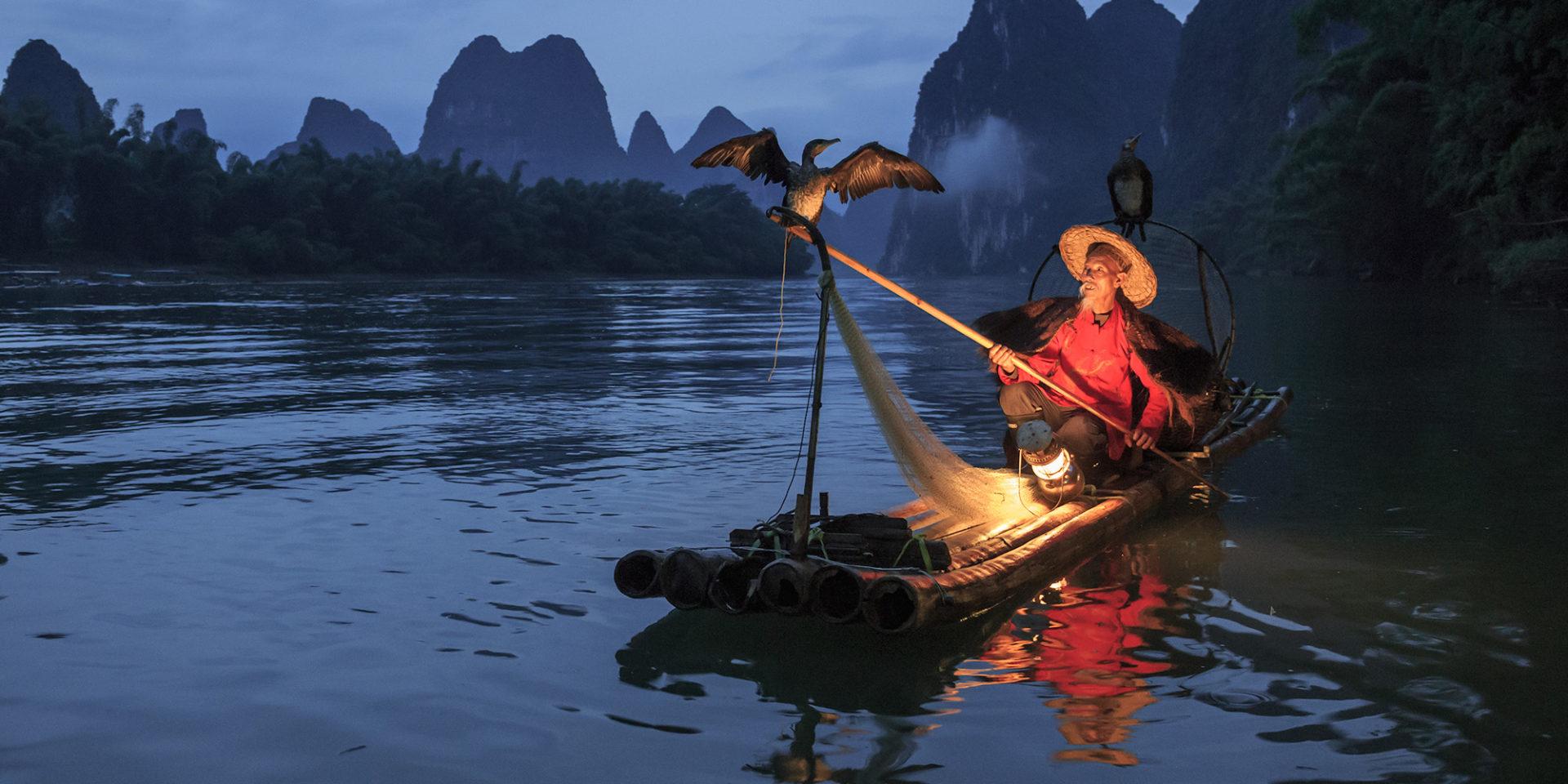 Cormorant Fisherman #2